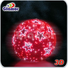 LED 3D Large Round Ball Christmas Lights