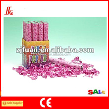 Hot sale wedding rose petal poppers with rose petals confetti(FAS-5174)
