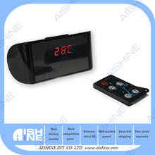 LED Smart Home Surveillance Baby Care HD 720p Camera Clock Alarm Hidden Remote Control Camera
