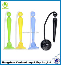 2015 new cute fashion design desk stand pen for bank and office