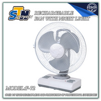 Oscillating fan parts 14 inch battery operated fan with AC/DC operation