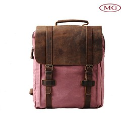 2015 fashion vintage waxed canvas travel laptop backpack wholesale from Shenzhen supplier