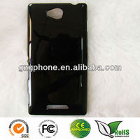 china mobile phone accessories new model case for Sony Xperia C S39H
