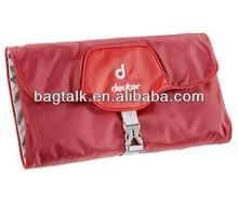 Latest Fashion Promotional Nylon Travelling Hanging Cosmetic Bag Organizer