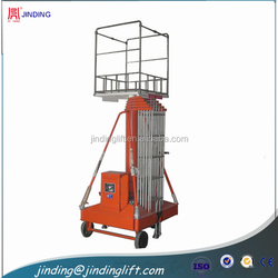 motorcycle hydraulic rising platform for construction wok