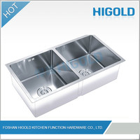 Professional Widely Used Durable High Technology 1.5Mm Thick Stainless Steel Sink