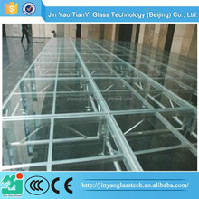 Beijing China best commercial tempered glass fence panels manufacturer
