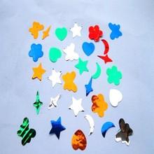 star and moon shape confetti
