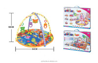 Baby Gift Rainforest Musical Baby Activity Play Gym Toy Soft Mat from china factory