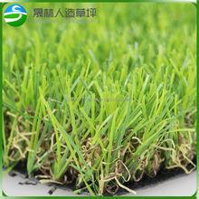 Colorido vuelos baratos de china hierba artificial para la decoración durable césped