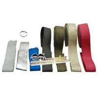 Colored Guangzhou 50mm*10M Ceramic Exhaust Wrap/Thermo bandage for Car and motorcycle
