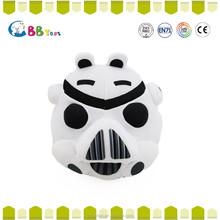 ICTI Interesting high quality plush toys for sales. The strange black and white pig