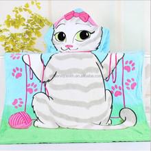 children hooded bath towel
