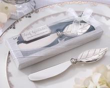 Fashion Leaf Spreader Butter Knife Wedding Favors