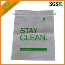 cheap reusable non woven wholesale drawstring laundry bags