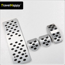 Aluminum Alloy MT Car pedal pad For Bora/Beetle/Polo/Passat B5