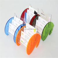 Portable top-end mini acrylic credit card holder