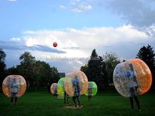 New Human Bubble Soccer Kid Set , Zorb Ball Bumper Football Set of 12 Balls