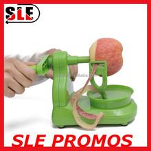 high quality promotion bulk home household fruits and vegetables peeler,wholesale manual rotary apple&potato&pear plastic peeler