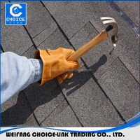 roof shingle,Laminated best colored asphalt roof shingle