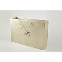 High quality custom paper shopping bag with cotton rope