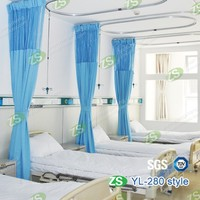 Suppliers of New Medical curtain luxurious Hospital Bed Curtain