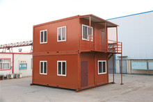 Recycled Boat with Circuit real estate prefab container house