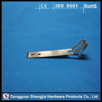 High Precision Spring Clips Flat Metal Stamping Nickel Plating Spring Clips