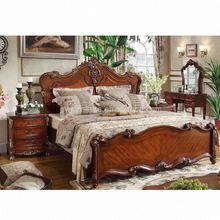 antique solid wooden bed frame
