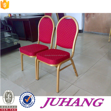 High quality memory foam banquet chair aluminum seater with fabirc cover JH-A02