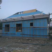 Residential House For Xinjiang Herdsman Light Steel Structure Frame Modular House