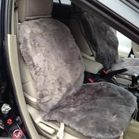 2 Pieces China Unique Austria Sheepskin Car Seat Covers Leather