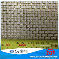 woven wire mesh / high performance ss crimped wire mesh