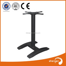 H shape Cast Iron outdoor table base Assembled Table Legs