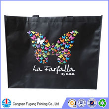 2015 High quality nonwoven tote bag with coloful logo