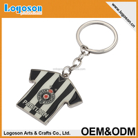 2015 promotional items gifts souvenirs custom metal keychain made football keyrings