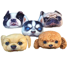 High Quality Throw Pillow Cover Lovely Pet Dog Creative Design Car Seat Cushion