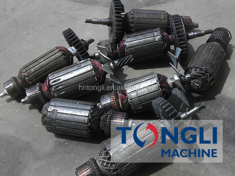 steel scrap shredder machine