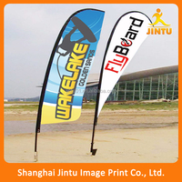 Customized colorful Logo Printed Beach Chair Flag