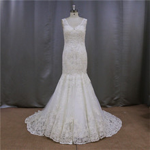 Embroidery Lace Vintage lover wedding dresses