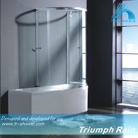 AOOC1504CL top sell tempered glass massage bath shower screen