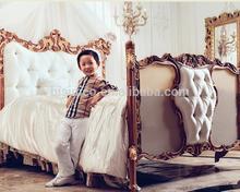 Antico bambini/bambini mobili camera da letto insieme, di lusso regale bambini/lettino per bambini mobili