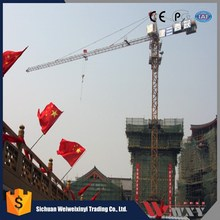 6.0 t electric tower crane for sale