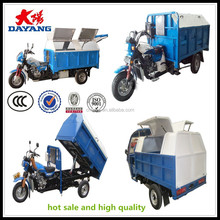 manufacture open body dumper mini 3 wheel car for sale garbage tricycle