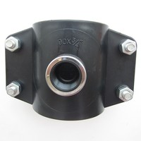 20mm hdpe pn16 pp pipe clamp saddle compression fitting for irrigation