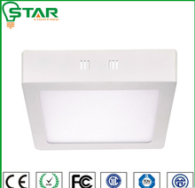 200*200 led light fixtures surface mounted led panel light