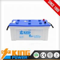 Hot sale model N180 12V180AH 12V Dry charged Car Battery