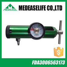 CGA870 pin index style medical oxygen regulator /yoke style