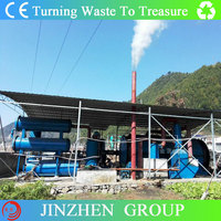 Advanced Technology Automatic scrap tires pyrolysis /recycling machine