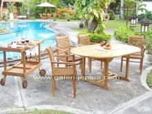Teak Garden Furniture - Outdoor Furniture - Extending Table
